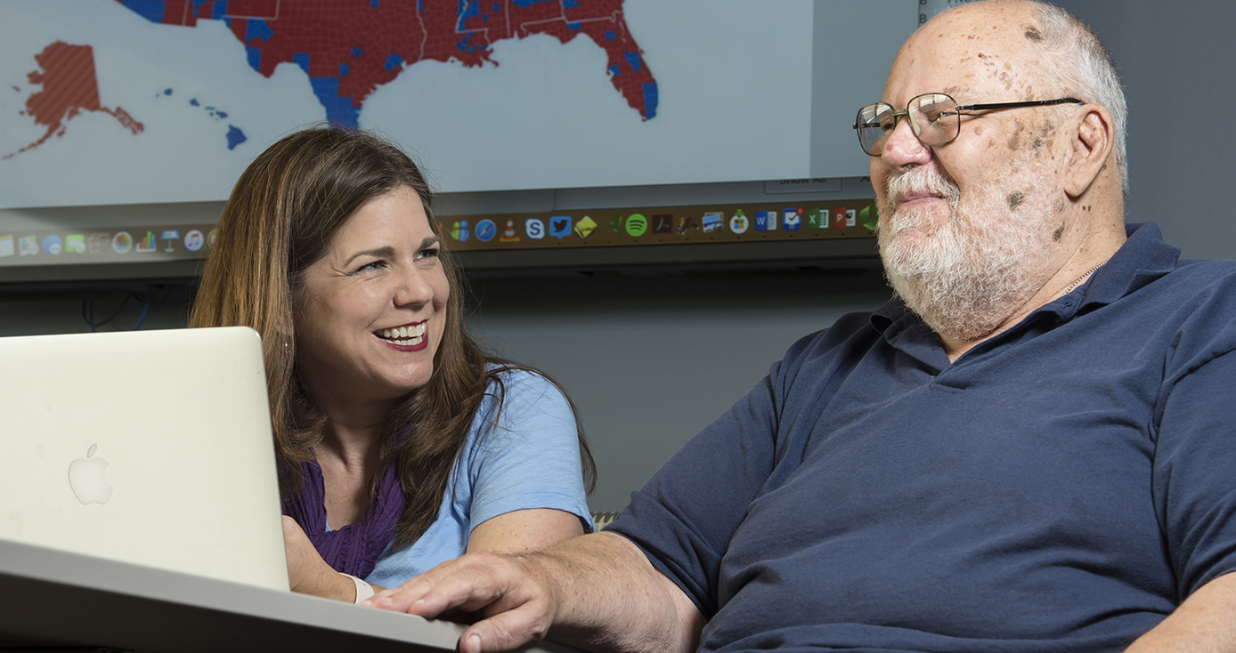 Daughter-Father Team Teaches Class on Bridging Political