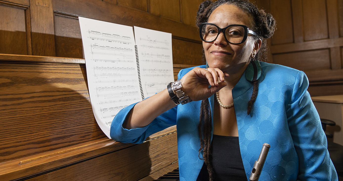 Nicole Mitchell, Pitt's new William S. Dietrich II Endowed Chair in Jazz Studies