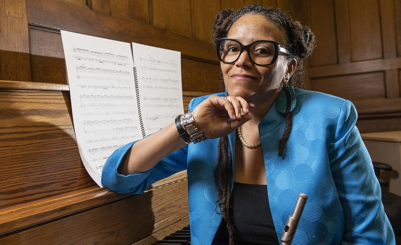 Nicole Mitchell, Pitt's new William S. Dietrich II Endowed Chair in Jazz Studies