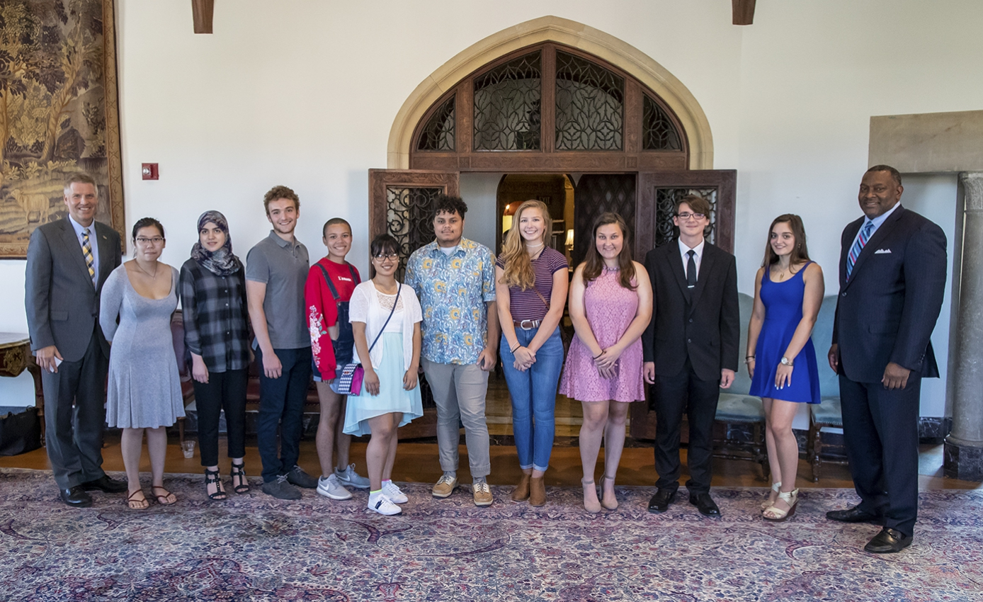 ten students, the chancellor, superintendent of PPS