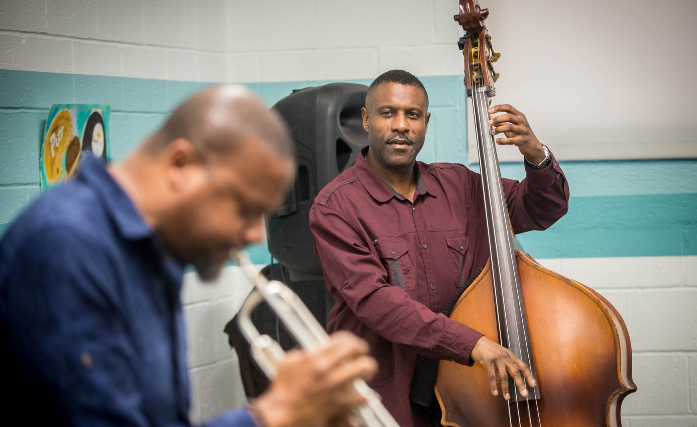 Renowned bassist Reginald Veal and trumpeter Sean Jones