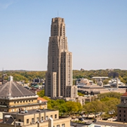 Cathedral of Learning pictured from a distance