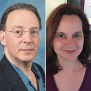 David Birnbaum headshot, Kathryn Haines headshot