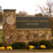 A University of Pittsburgh-Bradford Sign