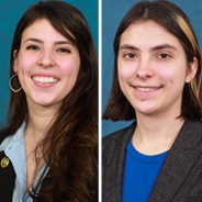 Madeline Guido and Kaylene Stocking headshots.
