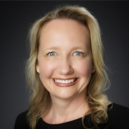 Marketa Lindt in a black top