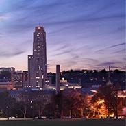 Pittsburgh at dusk