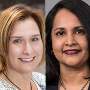 Jen Brach and Vanitha Swaminathan side by side