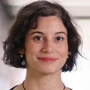 Anne-Ruxandra Carvunis in a black top
