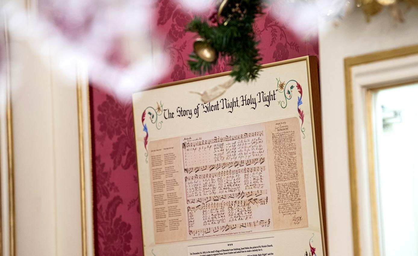 "Sheet music for ""Silent Night"""