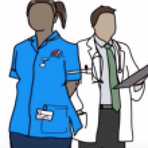Art of two health information professionals