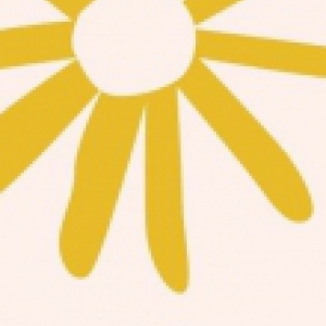 Clipart of a yellow flower