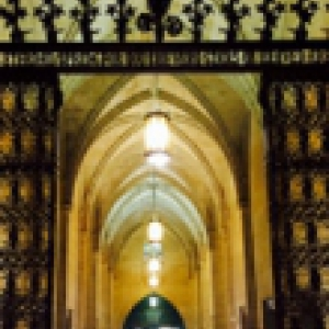 The Cathedral of Learning's gate