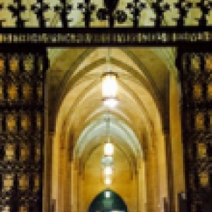 Cathedral of Learning gate