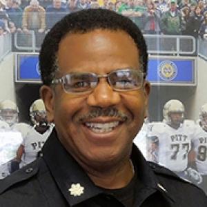Shawn Ellies in his police uniform