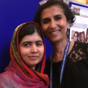 Singh and Malala Yousafzai