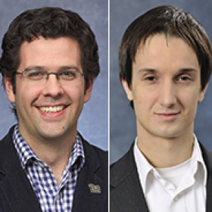 James McKone and Christopher Wilmer headshots