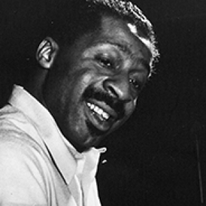 Black and white historical photo of Erroll Garner