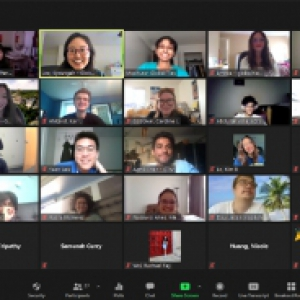 A Zoom meeting full of participants