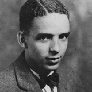 black and white headshot image of Joshua Rose c. 1928