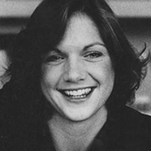 Kathy Stetler headshot, archival, black and white